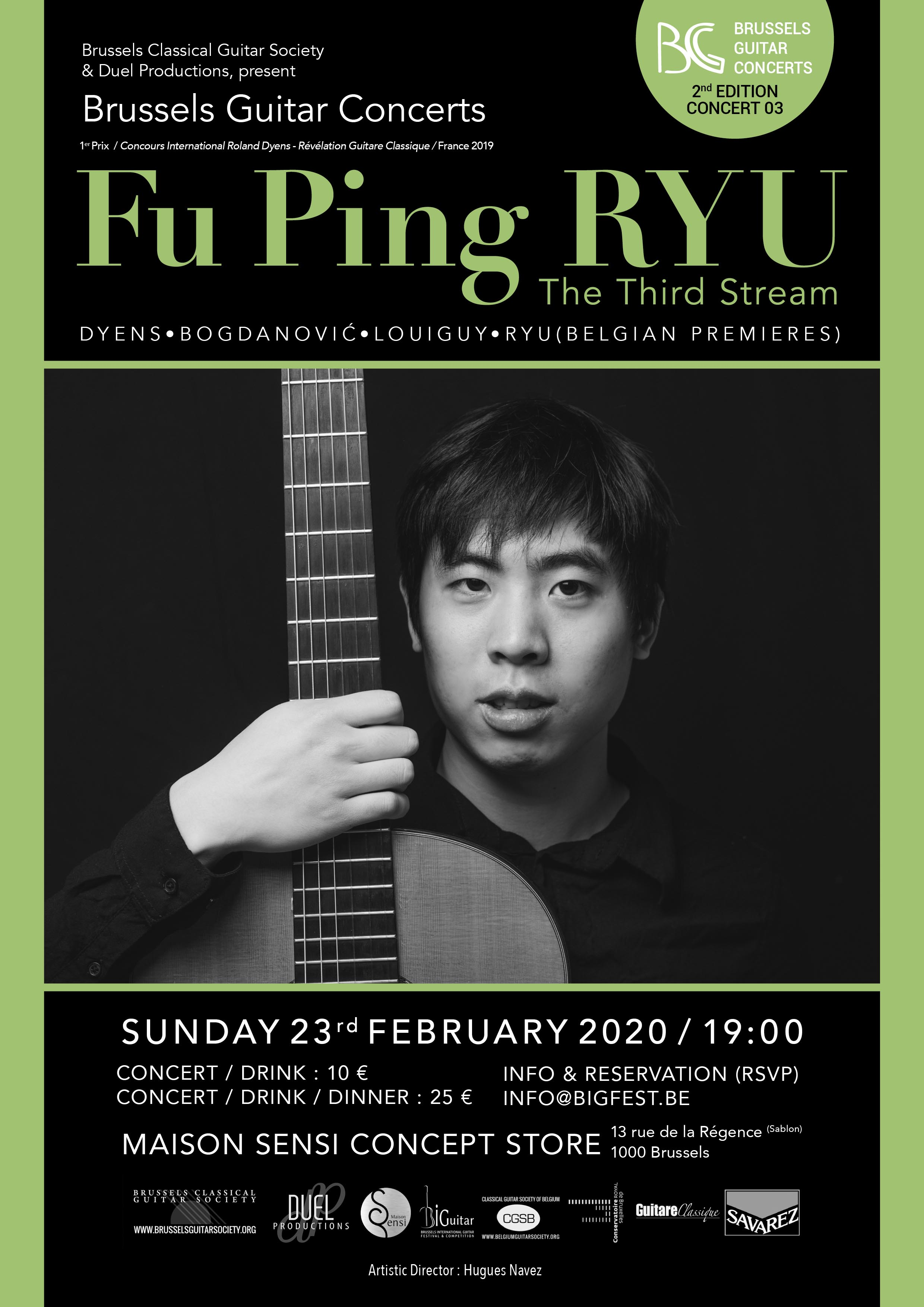 Fu Ping Ryu - Brussels Guitar Concerts