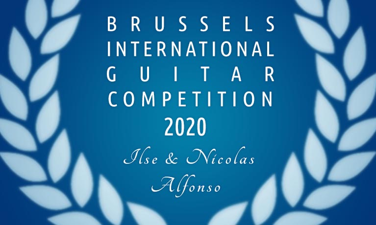Brussels International Guitar Competition « Ilse & Nicolas Alfonso »