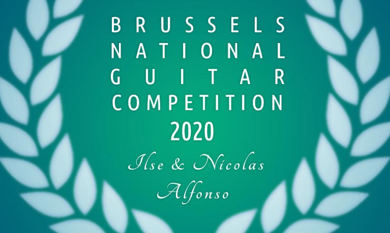 Brussels National Guitar Competition « Ilse & Nicolas Alfonso »